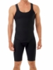 Mens compression bodysuit for weight lost