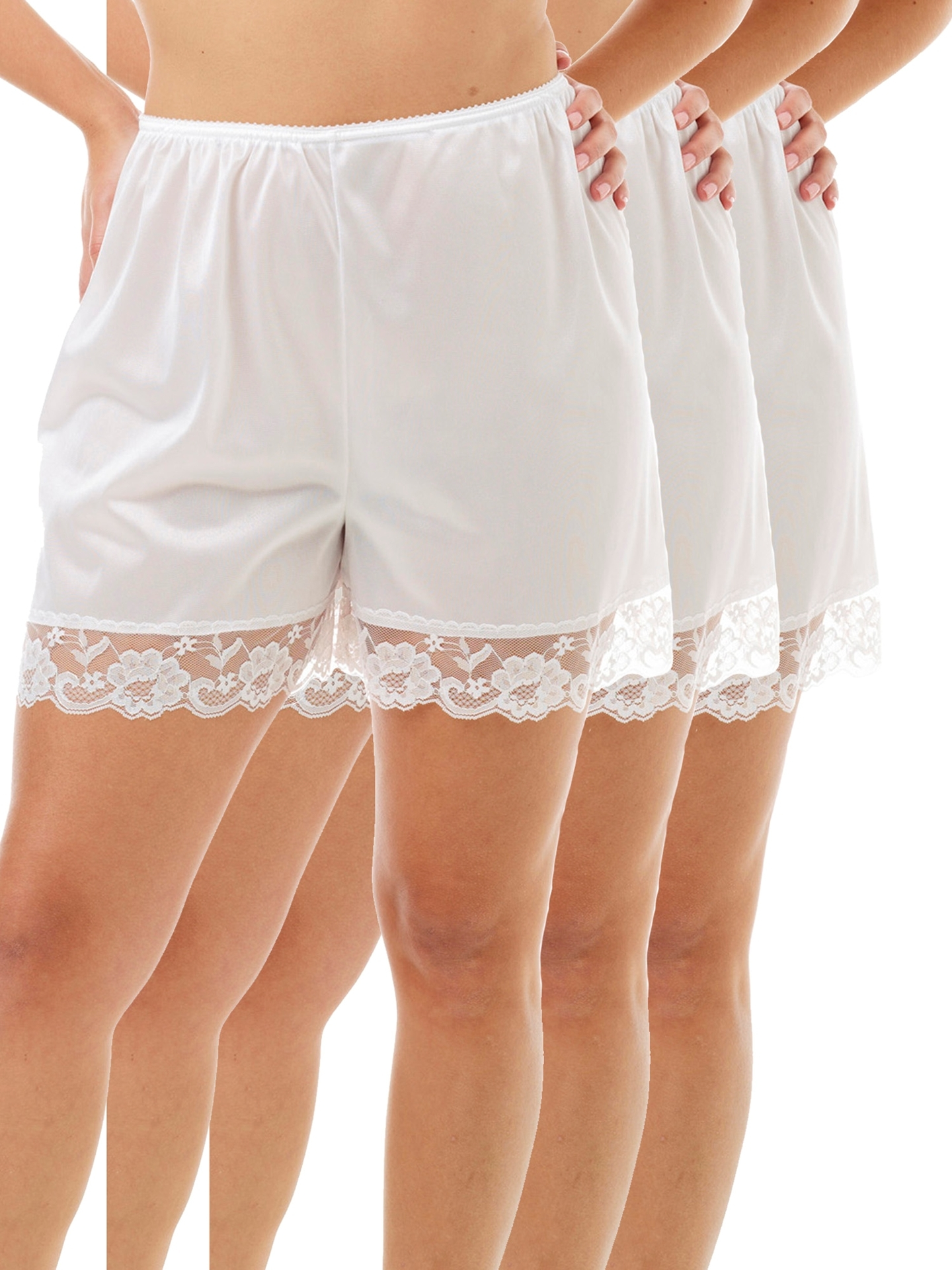 Picture of Nylon Pettipants 4-Inch Inseam 3-Pack