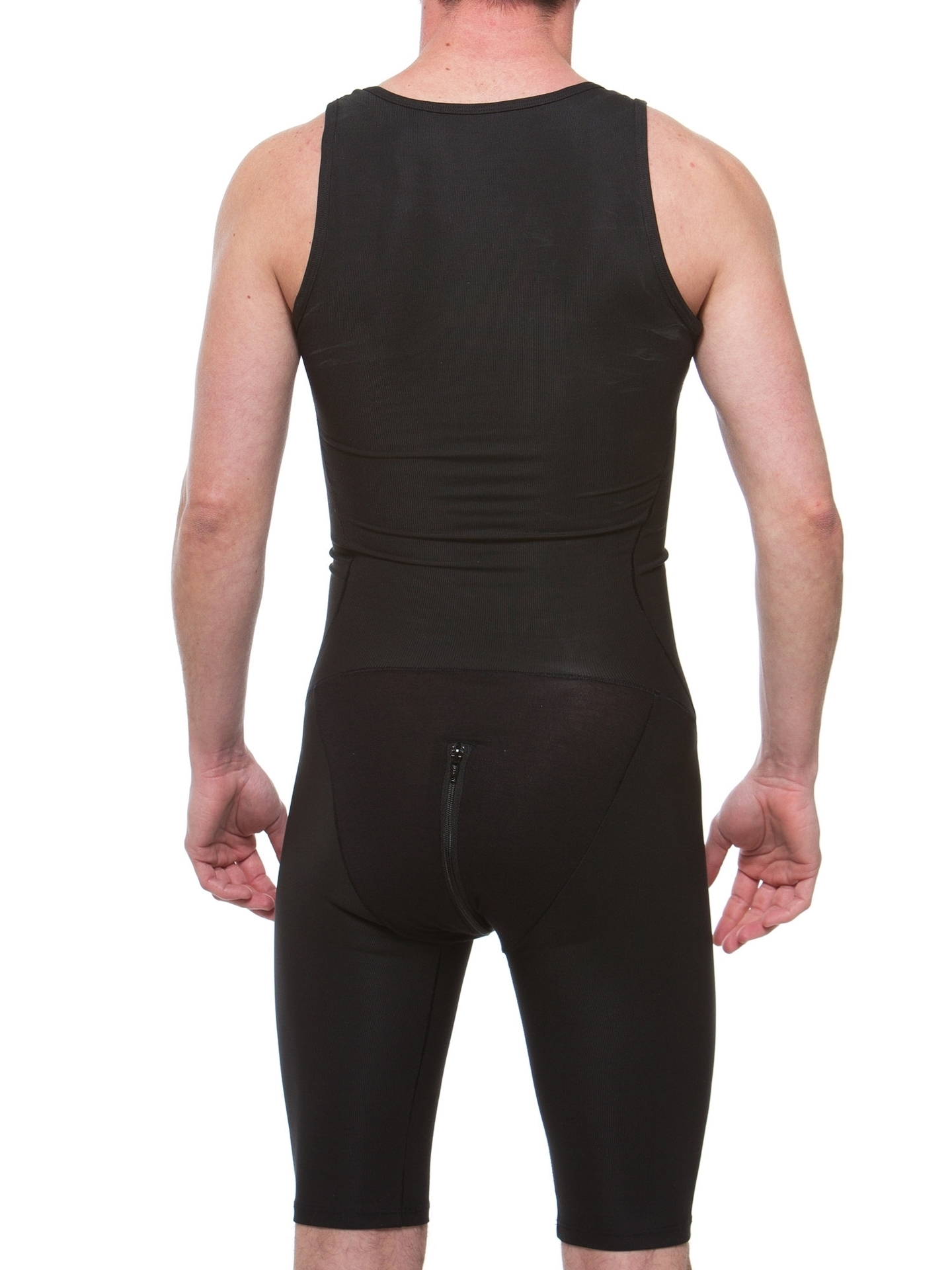 Mens Compression Shaper Bodysuit