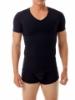 Picture of Cotton Concealer V-neck T-shirt - Slightly Irregular Garment